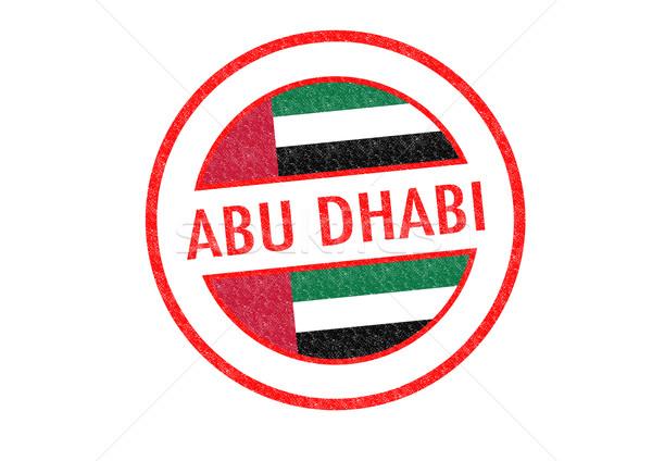 Абу-Даби Объединенные Арабские Эмираты белый отпуск кнопки Сток-фото © chrisdorney