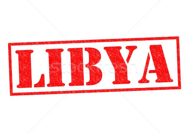 Libia biały Afryki wakacje przycisk Zdjęcia stock © chrisdorney
