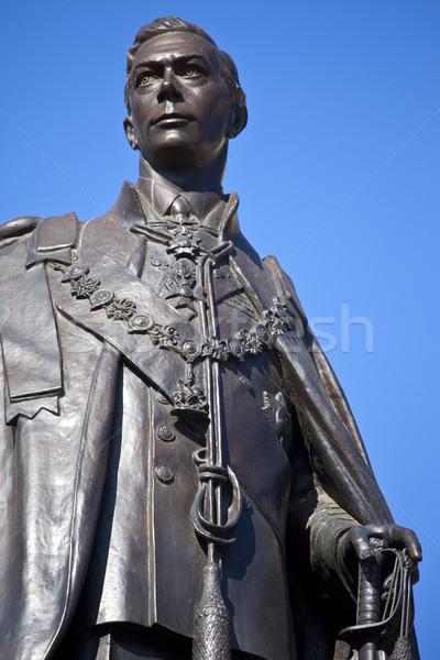 Statue of King George IV in London Stock photo © chrisdorney