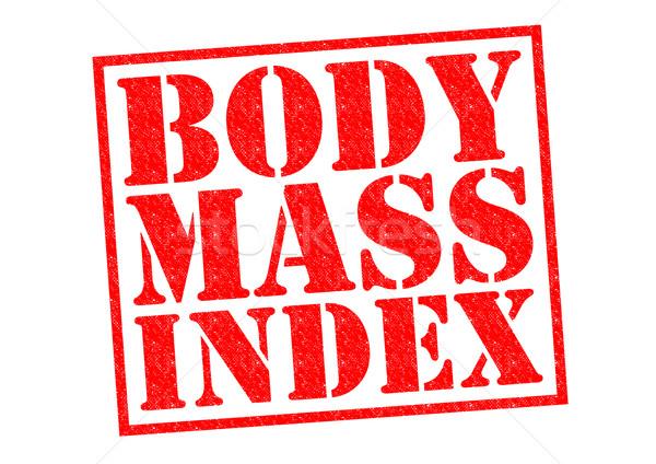 BODY MASS INDEX Stock photo © chrisdorney