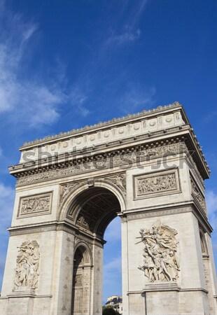 Arc de Triomphe in Paris Stock photo © chrisdorney
