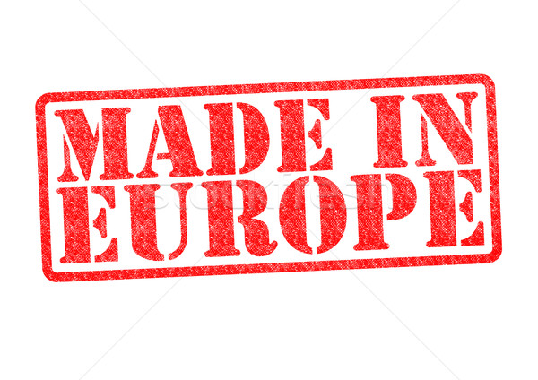MADE IN EUROPE Rubber Stamp Stock photo © chrisdorney