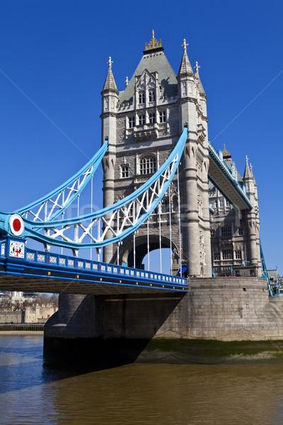 Tower Bridge Londyn wspaniały miasta wieża piękna Zdjęcia stock © chrisdorney