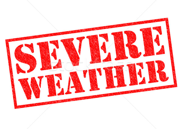 SEVERE WEATHER Stock photo © chrisdorney