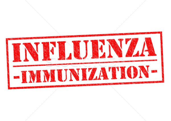 INFLUENZA IMMUNIZATION Stock photo © chrisdorney