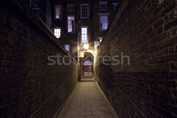 Urban Alleyway Stock photo © chrisdorney