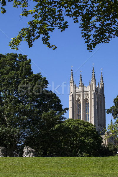St. Edmundsbury Cathedral in Bury St. Edmunds Stock photo © chrisdorney