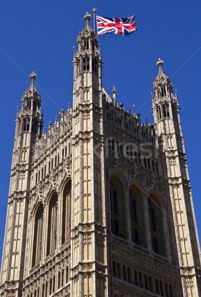 Foto stock: Torre · casas · parlamento · westminster · Londres · verão
