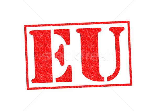 Europese unie eu witte reizen Stockfoto © chrisdorney