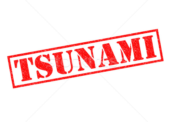 TSUNAMI Stock photo © chrisdorney