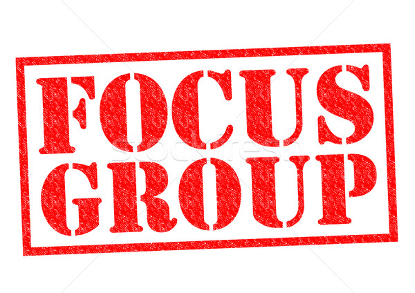 Groupe de discussion rouge blanche affaires réunion Photo stock © chrisdorney