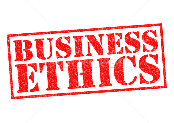 BUSINESS ETHICS Stock photo © chrisdorney