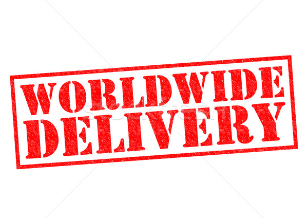 WORLDWIDE DELIVERY Stock photo © chrisdorney