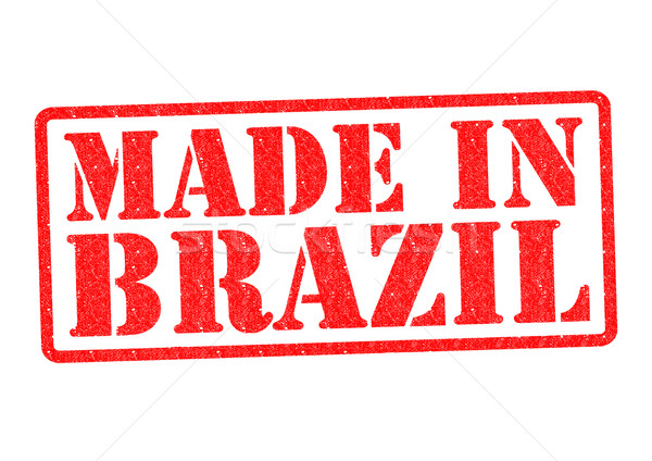 Brasil branco vermelho construir borracha Foto stock © chrisdorney