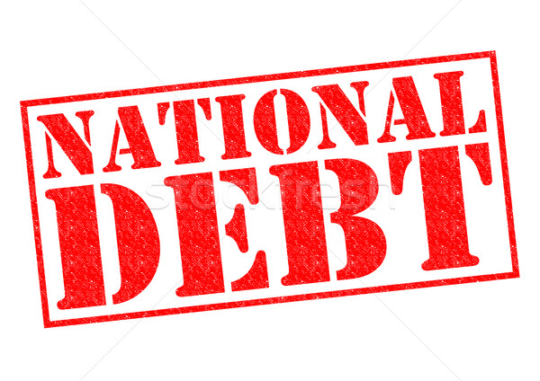 NATIONAL DEBT Stock photo © chrisdorney