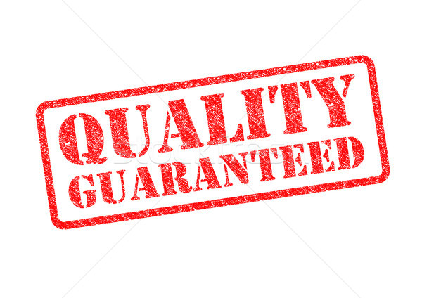 Stock photo: QUALITY GUARANTEED