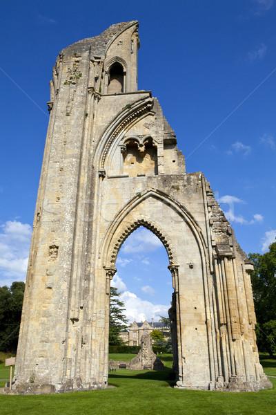 Opactwo historyczny ruiny domu Europie Anglii Zdjęcia stock © chrisdorney