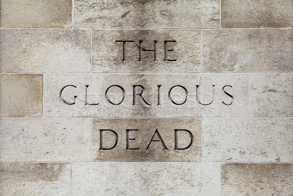 The Glorious Dead Inscription on the Cenotaph in London Stock photo © chrisdorney