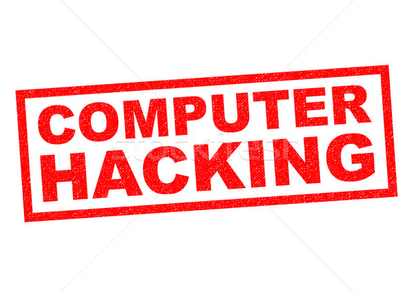 COMPUTER HACKING Stock photo © chrisdorney