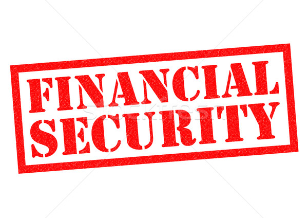 FINANCIAL SECURITY Stock photo © chrisdorney