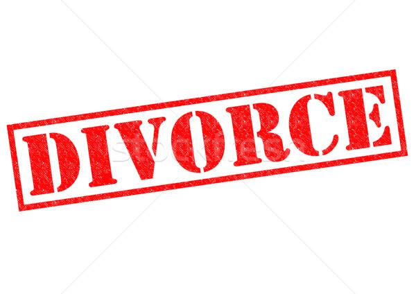 DIVORCE Stock photo © chrisdorney