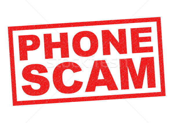 PHONE SCAM Stock photo © chrisdorney