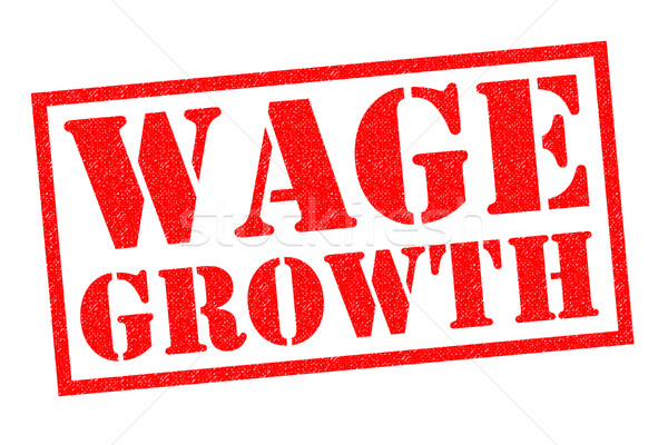 WAGE GROWTH Stock photo © chrisdorney