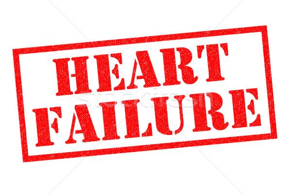 Serca brak czerwony biały medycznych Zdjęcia stock © chrisdorney