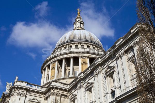 Catedral Londres impressionante igreja religião Foto stock © chrisdorney