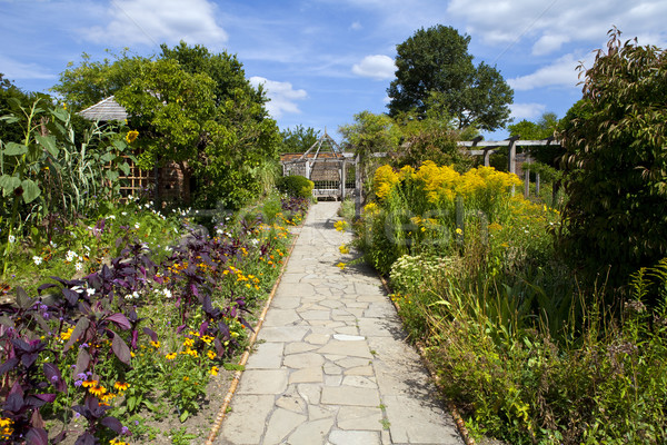 The Walled Garden in Brockwell Park, Brixton. Stock photo © chrisdorney