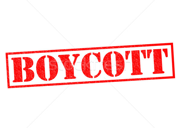 BOYCOTT Stock photo © chrisdorney