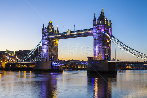 Tower Bridge at Dawn Stock photo © chrisdorney