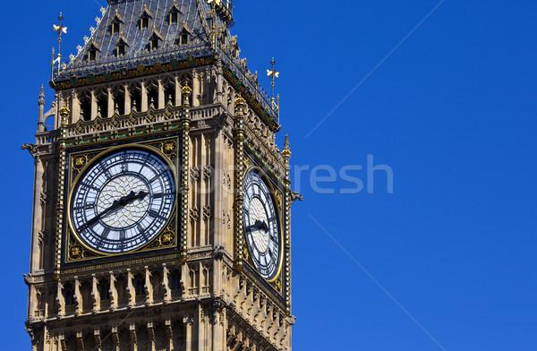 The Clock-Face of Big Ben in London Stock photo © chrisdorney