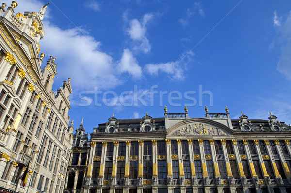Historic Buildings on Grand Place in Brussels Stock photo © chrisdorney