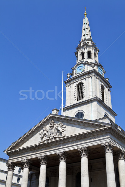 St Martin in the Fields Church in London Stock photo © chrisdorney