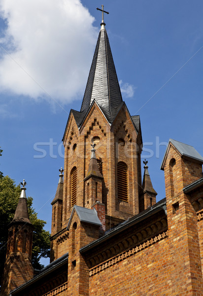 Evangelische Kirche in Linz, Germany Stock photo © chrisdorney