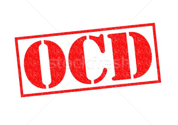 OCD Rubber Stamp Stock photo © chrisdorney
