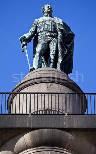 Duke of York Column in London Stock photo © chrisdorney