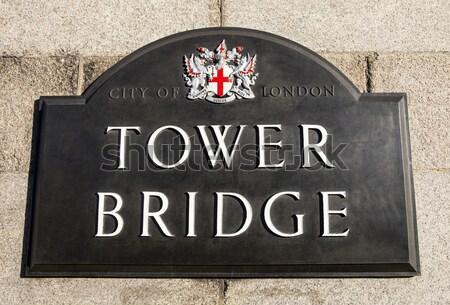 Tower Bridge Londra seyahat kule İngiltere tepe Stok fotoğraf © chrisdorney