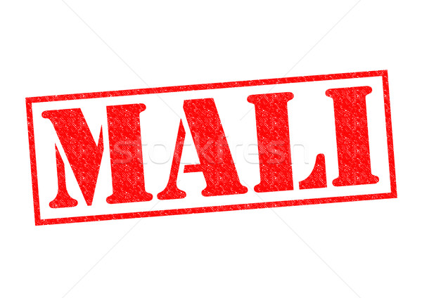 MALI Rubber Stamp Stock photo © chrisdorney