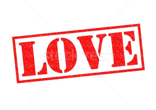 Stockfoto: Liefde · Rood · witte · seks · getrouwd