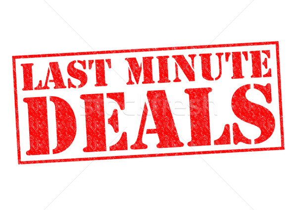 LAST MINUTE DEALS Stock photo © chrisdorney