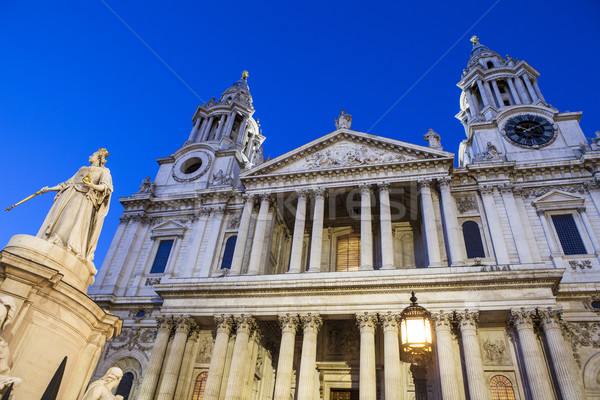 Cattedrale Londra view facciata città viaggio Foto d'archivio © chrisdorney