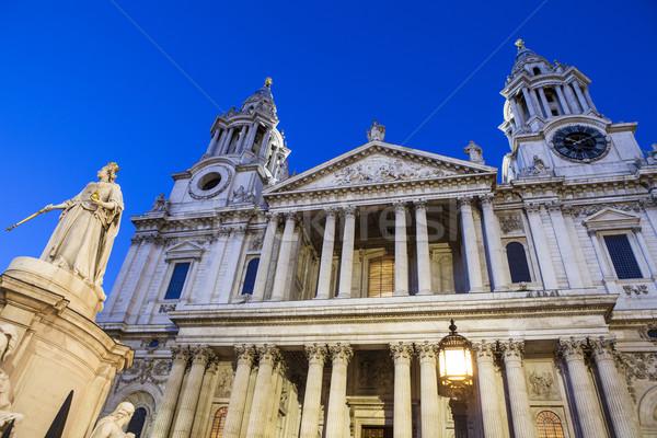Catedral Londres vista fachada ciudad viaje Foto stock © chrisdorney