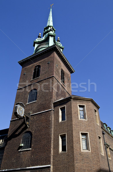 All Hallows by the Tower in London Stock photo © chrisdorney