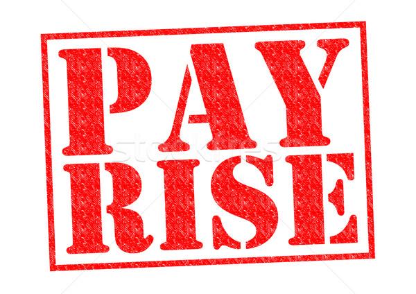PAY RISE Stock photo © chrisdorney