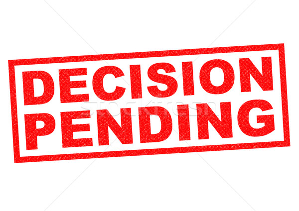 DECISION PENDING Stock photo © chrisdorney