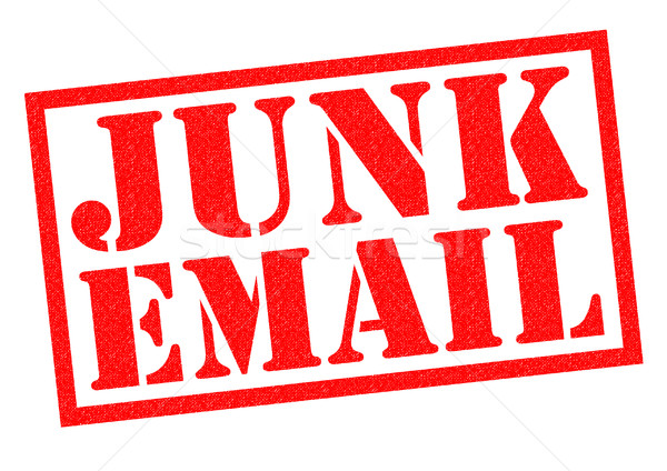 JUNK EMAIL Stock photo © chrisdorney