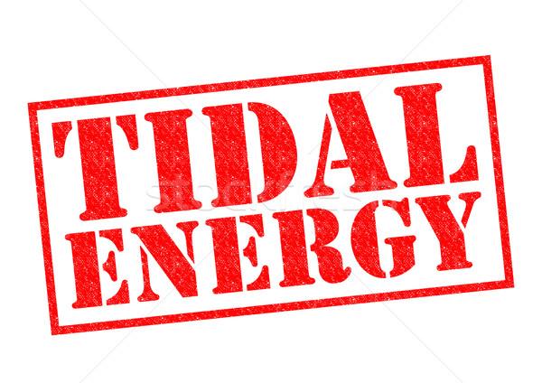 Stock photo: TIDAL ENERGY