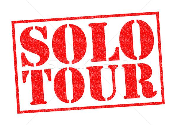 SOLO TOUR Stock photo © chrisdorney